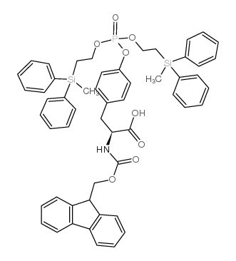(2S)-3-[4-[bis[2-[methyl(diphenyl)silyl]ethoxy]phosphoryloxy]phenyl]-2-(9H-fluoren-9-ylmethoxycarbonylamino)propanoic acid
