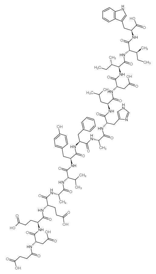 Succinyl-(glu(9),ala(11,15))-endothelin-1 (8-21)